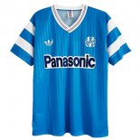 Tailandia Camiseta Marsella Away Retro 1990 Azul